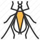 animal, bug, cricket, insect, tree icon