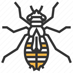 animal, bug, insect, larva icon
