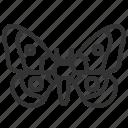 emperor, mopane, moth icon