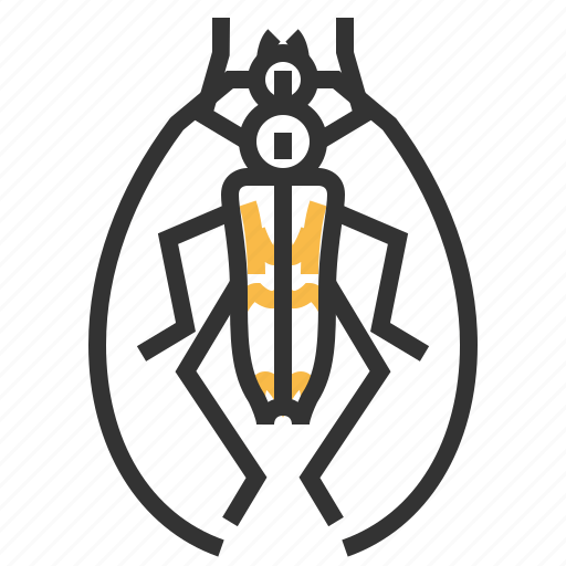 animal, beetle, bug, insect, longhorn icon