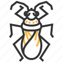 animal, bug, insect, velvet, water icon