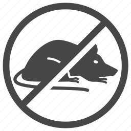 ban, control, insect, mice, pest, pest control, rat icon
