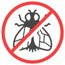 exterminator, fly, insect, pest, pest control icon
