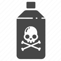insect, insecticide, kill, pest, pest control, poison, toxic icon