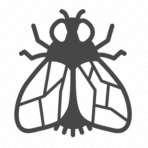 bug, fly, insect, pest, pest control icon