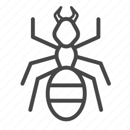 ant, bug, insect, pest, pest control icon