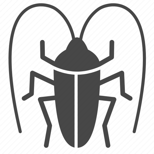bug, cockroach, insect, pest, pest control icon