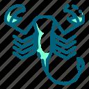 bug, harmful, insect, scorpion, venomous icon