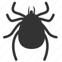 bug, flea, insect, insect pests, insect prohibition, louse, tick icon