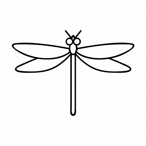 Dragonfly, bug, lake icon - Download on Iconfinder