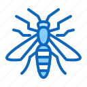 bug, insect, insects, wasp icon