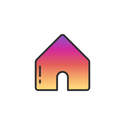 home, home page, instagram, page icon