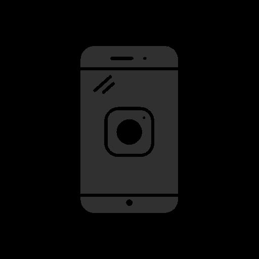 instagram, instagram logo, iphone, phone icon