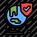 insurance, security, shield, world