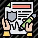 claim, compensation, contract, document, request
