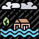 damage, disaster, flood, loss, property