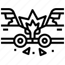 car, accident, collision, transport, crash icon