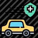 car, insurance, transport, transportation, vehicle icon