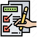 check, checklist, choice, document, form icon