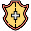 defense, guard, protect, security, shield icon