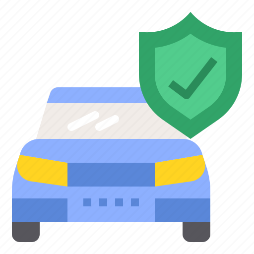 car, insurance, policy, protection icon