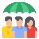care, group, insurance, people icon