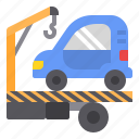 car, repair, service, towing icon