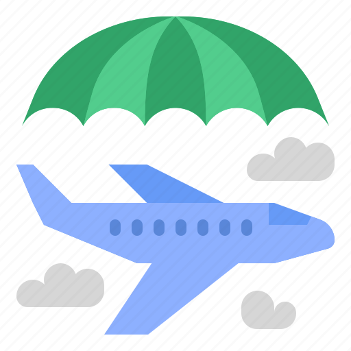 insurance, plane, protection, travel icon