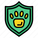 animal, care, insurance, pet icon