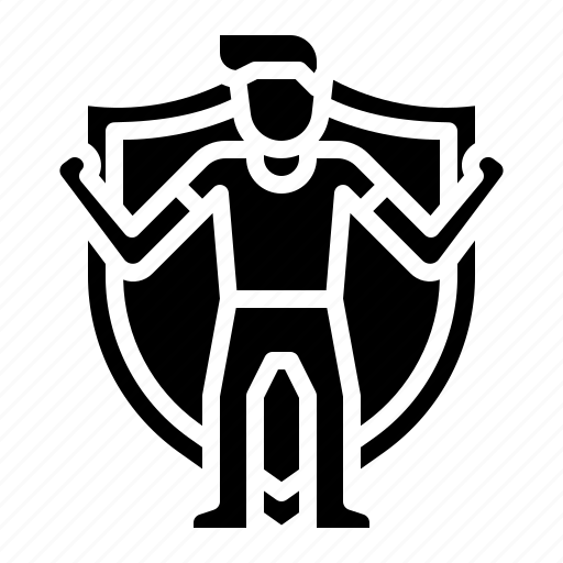 insurance, life, person, protection icon
