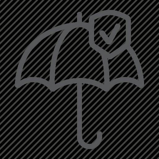 protection, reliability, reliable, security, umbrella icon