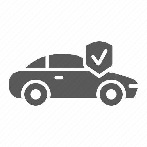 auto, automobile, car, insurance, protection, safety icon