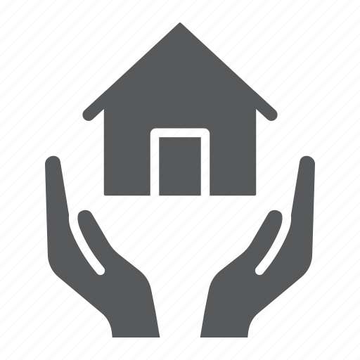 care, estate, home, house, insurance, property, real icon