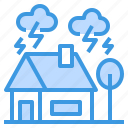 care, disaster, house, insurance, protection, security icon