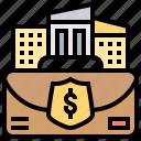 compensation, indemnity, insurance, payment, reimbursement icon