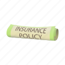 business, cartoon, insurance, policy, protection, safety, security icon