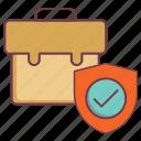 business insurance, finance insurance, insurance, work insurance, work safeguard icon