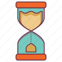 hourglass, insurance, schedule, stopwatch, time period, time table, timer icon