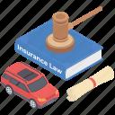 auto insurance, auto insurance law, car guarantee, car insurance, car protection icon