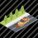 car accident, car collision, collision crash, collision insurance, road tragedy icon