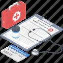 health insurance, healthcare insurance, medical insurance, medical policy, medical protection icon