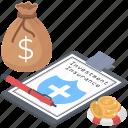 deposit insurance, investment insurance, investment protection, investment safety, money insurance icon