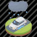 hail damage, hail damage car, hail hazard, hail storm, natural disaster icon