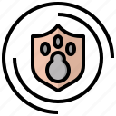 animal, animals, dog, insurance, kingdom, mammal, pet icon