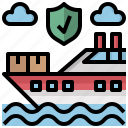 cargo, container, crane, delivery, industry, shipping, transportation icon