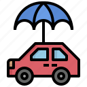 business, finance, insurance, protection, safety, umbrella icon