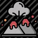 danger, ecology, environment, erupting, eruption, volcano