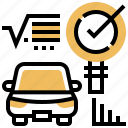 car, check, diagnosis, repair, vehicle icon