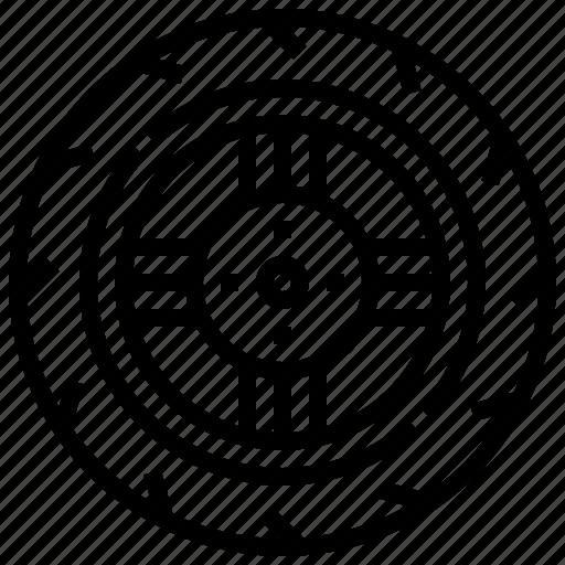 Automotive, car, tire, wheel icon - Download on Iconfinder