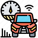 car, control, cruise, speed, vehicle icon